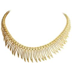 Mauboussin Gold Fringe Necklace