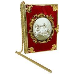 Antique Gold Almanac for London 1862