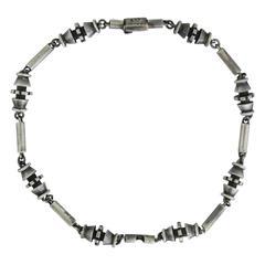 Salvador Teran Sterling Silver Choker Necklace