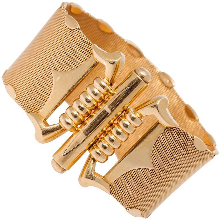 1970s Italian Gold Bracelet