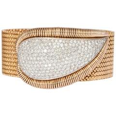Mauboussin Retro Diamond Gold Bracelet