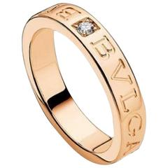 Bulgari Diamond Gold Ring