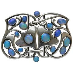 MURRLE BENNETT & CO Art Nouveau Buckle