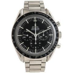 Omega Stainless Steel Speedmaster 321 Pre Man on the Moon Wristwatch