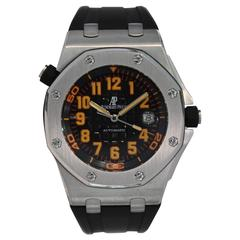 Audemars Piguet Stainless Steel Royal Oak Offshore Scuba Automatic Wristwatch