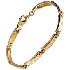 Korloff Enamel Gold Bracelet