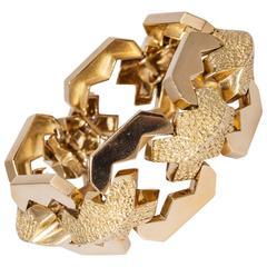 Tiffany & Co. Stunning Yellow Gold Bracelet