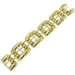 Tiffany & Co. Gold Link Bracelet.