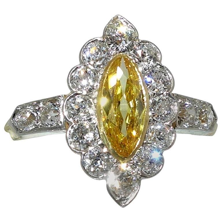 antique platinum ring at 1stdibs