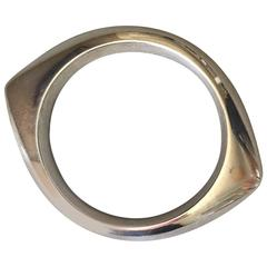 Georg Jensen Sterling Silver Bangle No. 111 by Nanna Ditzel