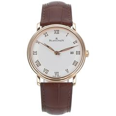 Blancpain Rose Gold Villeret Automatic Wristwatch