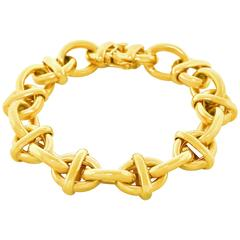 Tiffany & Co. Fabulous Fifties Link Gold Bracelet
