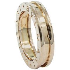 bvlgari bzero1 gold ring