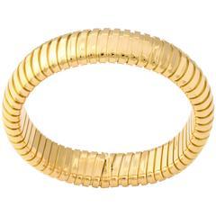 Gold Tubogas Bracelet