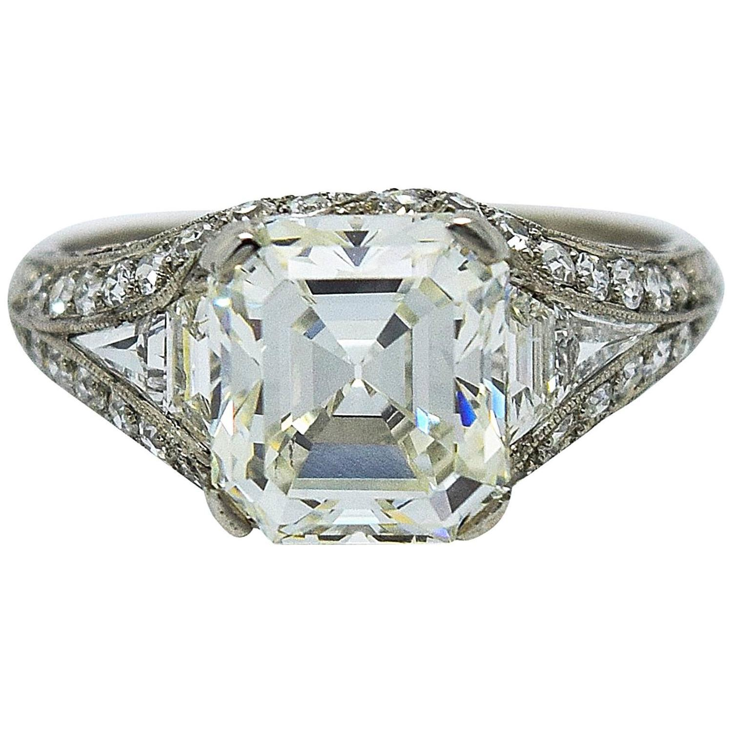 bailey banks and biddle deco 2 70 carat
