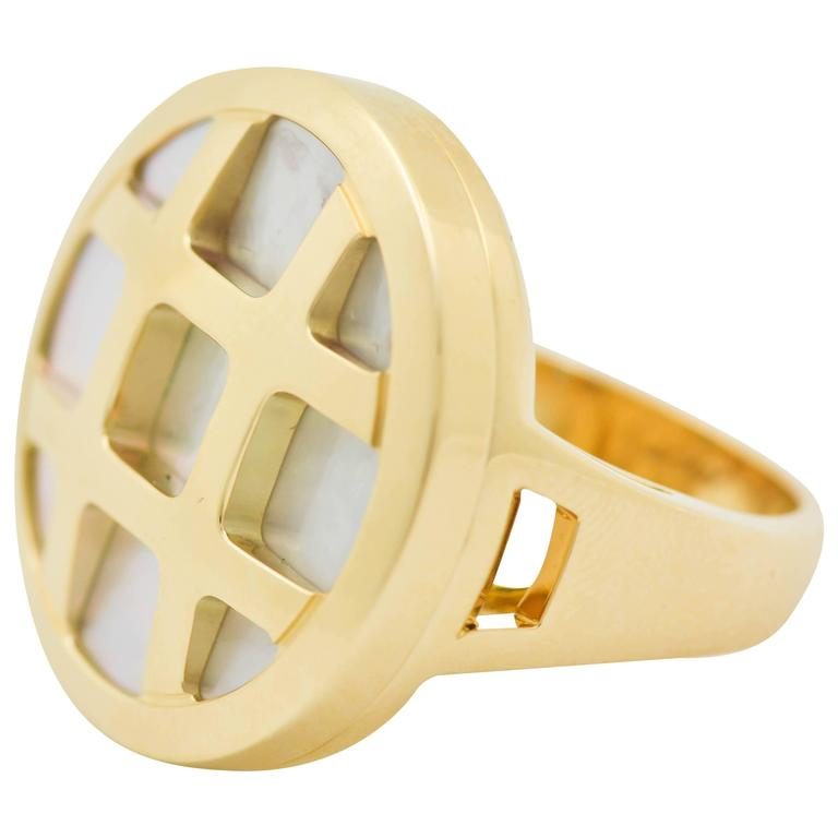 Classic Cartier Gold Pasha Ring 1