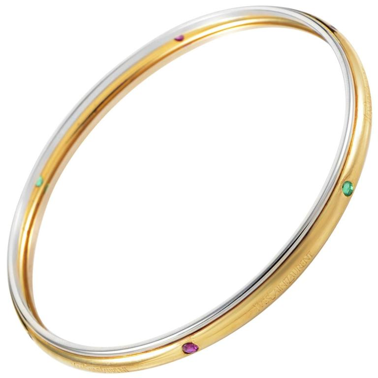 cut bangles stylerocks gold oval amethyst yellow bangle
