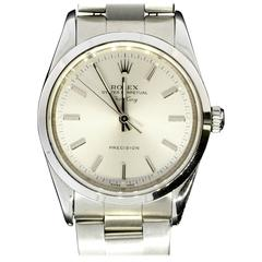 Rolex Stainless Steel Oyster Perpetual Air-King Automatic Wristwatch Ref 14000