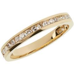 Tessa Packard London Diamond Gold Half-Eternity Ring