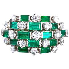 Emerald Cocktail Rings