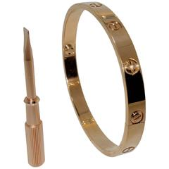 Cartier Gold Love Bracelet