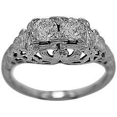 .60 Carat Diamond Gold Engagement Ring