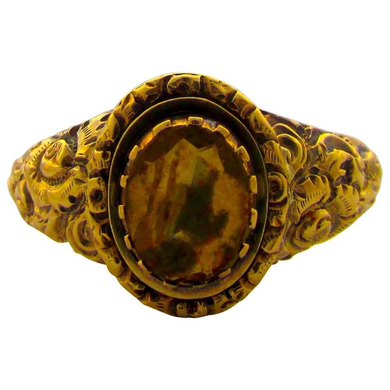 antique citrine gold ring for sale at 1stdibs