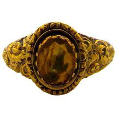 Antique Citrine Gold Ring