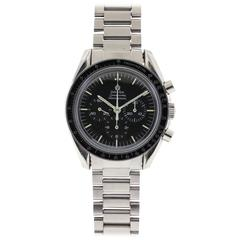 Omega Stainless Steel Speedmaster Professional Manual Wind Wristwatch
