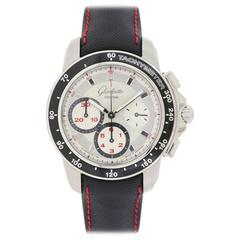 Glashutte Stainless Steel Original Evolution Sport Chronograph Wristwatch