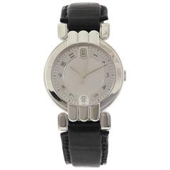 Harry Winston Platinum Premier Date Automatic Wristwatch