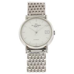 IWC Stainless Steel Portofino Date Bracelet Automatic Wristwatch