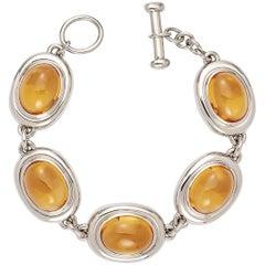 Colleen B. Rosenblat Citrine Gold Bracelet