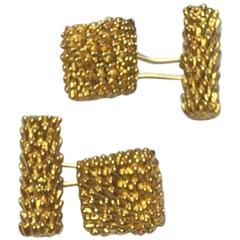 1960s Van Cleef & Arpels Gold Cufflinks