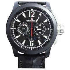 Jaeger-LeCoultre Black Ceramic Master Compressor Chronograph Ltd Ed Wristwatch