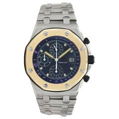 Audemars Piguet Yellow Gold Stainless Steel Beast Royal Oak Offshore Wristwatch