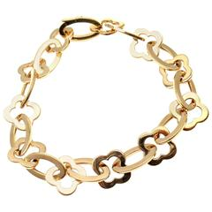 Van Cleef & Arpels Byzantine Alhambra Gold Bracelet