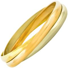 Cartier 1970s Gold Trinity Bracelet