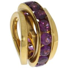 Mattioli Tourmaline 18 Carat Gold Ring