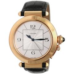 Cartier Rose Gold Pasha Automatic Wristwatch