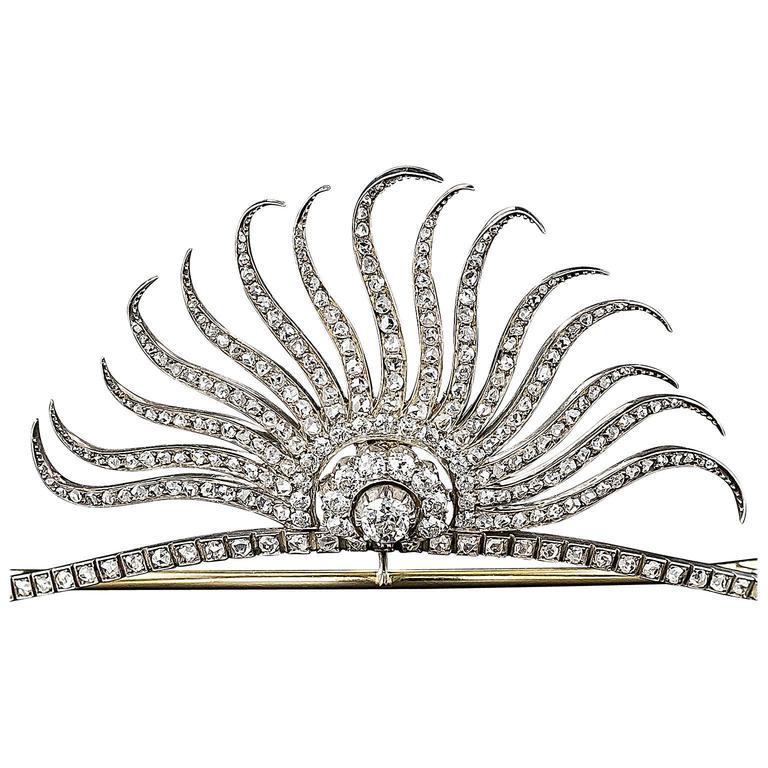 Victorian Diamond Tiara 1