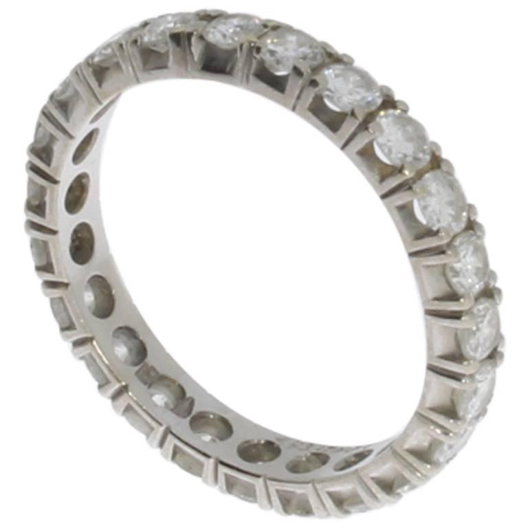 Diamonds Gold Band Ring