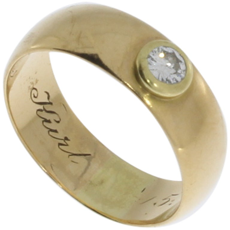 0.25 Carat Diamond Gold Ring