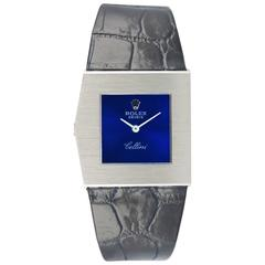 Rolex White Gold Cellini Midas Manual Wind Wristwatch Ref 4017