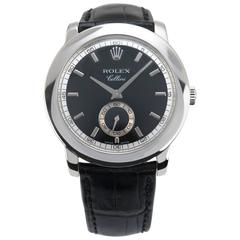 Rolex Platinum Cellini Manual Wind Wristwatch Ref 5241