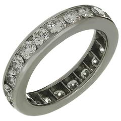 Tiffany & Co. Diamond Platinum Band Ring