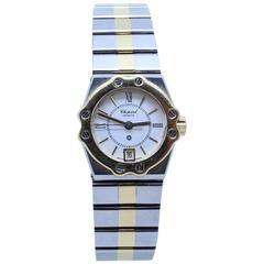 Chopard Yellow Gold Stainless Steel St. Moritz Quartz Wristwatch