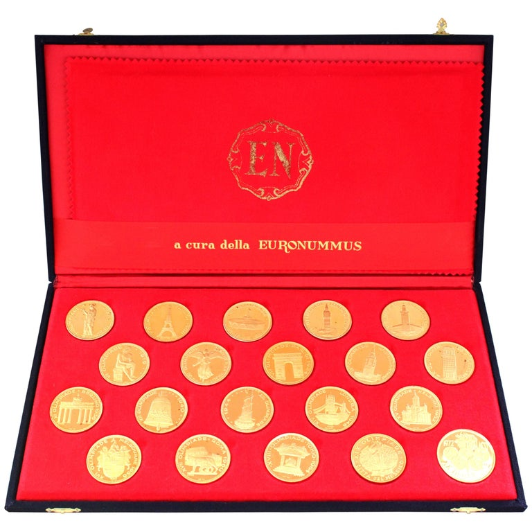 Rare 1970s Olympic Gold Coins Set For Sale