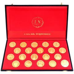 Rare 1970s Olympic Gold Coins Set