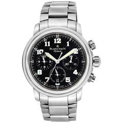 Blancpain Stainless Steel Flyback Automatic Chronograph Automatic Wristwatch